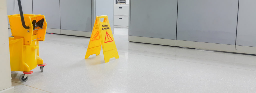 commercial cleaning - Cleaning Services at a Commercial Building