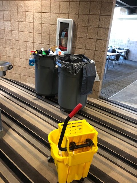 Commercial cleaning - garbage