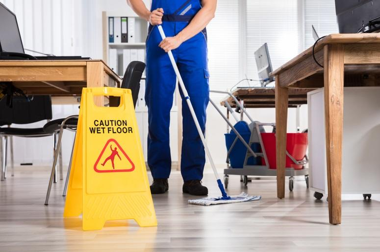 Commercial cleaning - cleaner