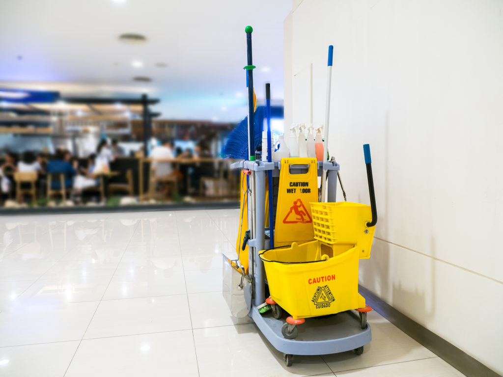 commercial cleaning - Janitorial service